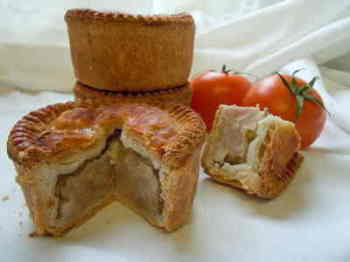 Saul's small pork pie