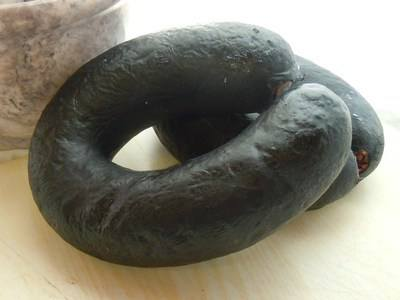 Black pudding ring