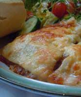 Sauls homemade lasagne