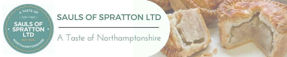Sauls of Spratton Ltd, site logo.
