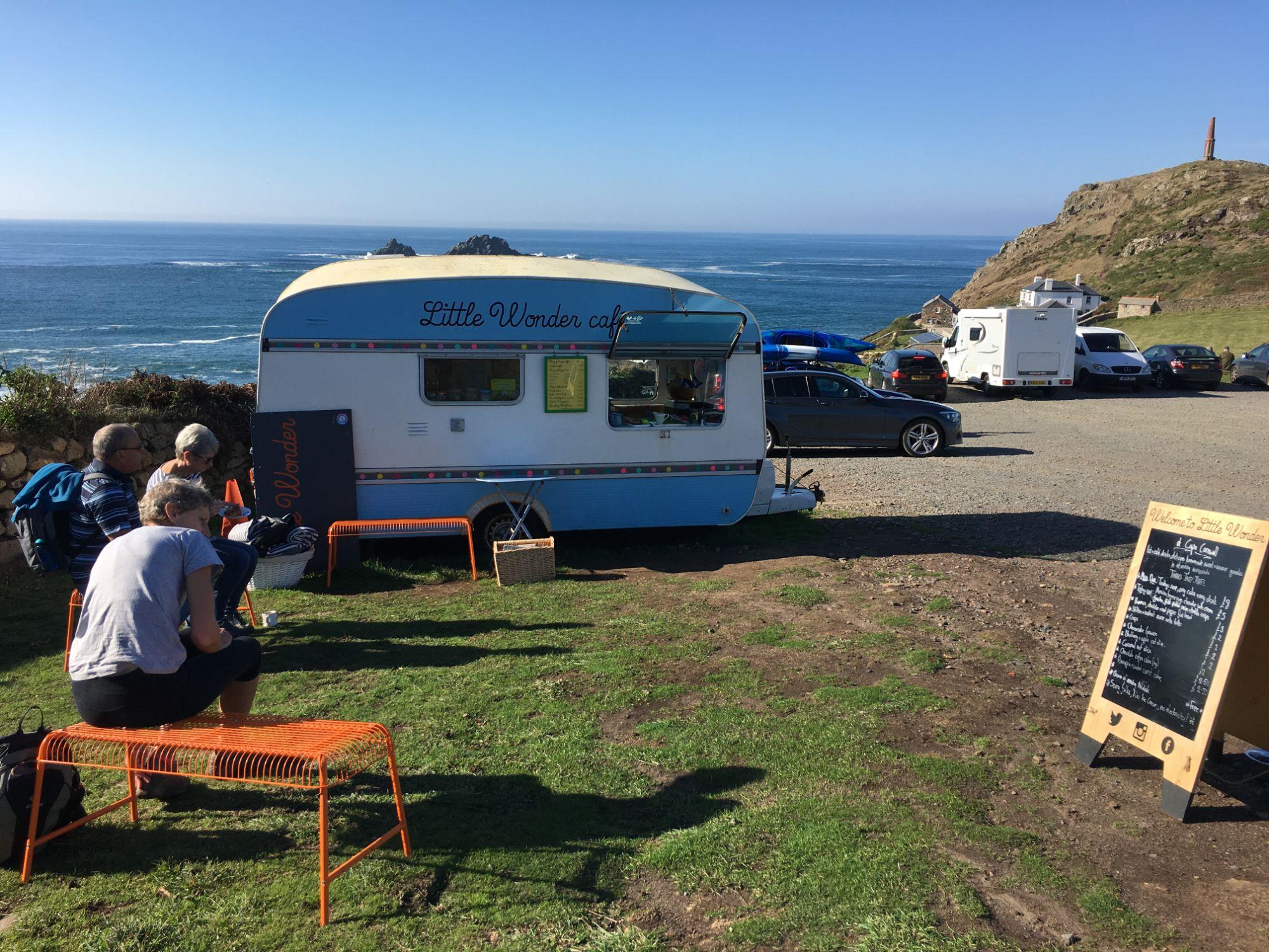 National Trust Little Wonder Caravan Cape Cornwall