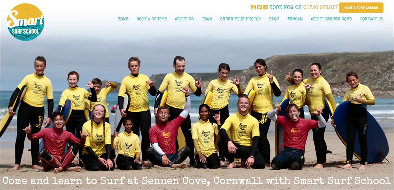 Smart Surf School Sennen Cove