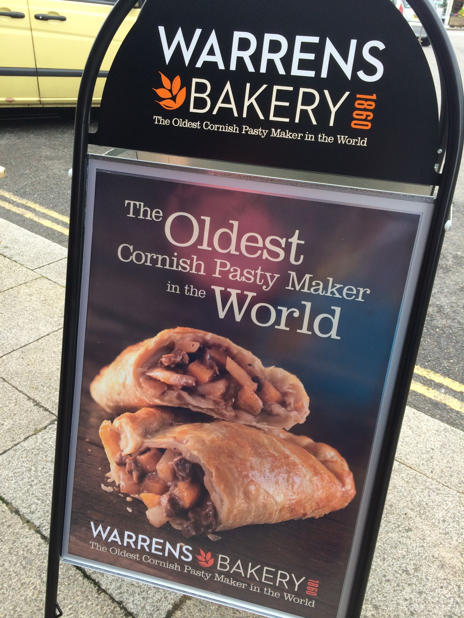 Warrens Cornish Pasty