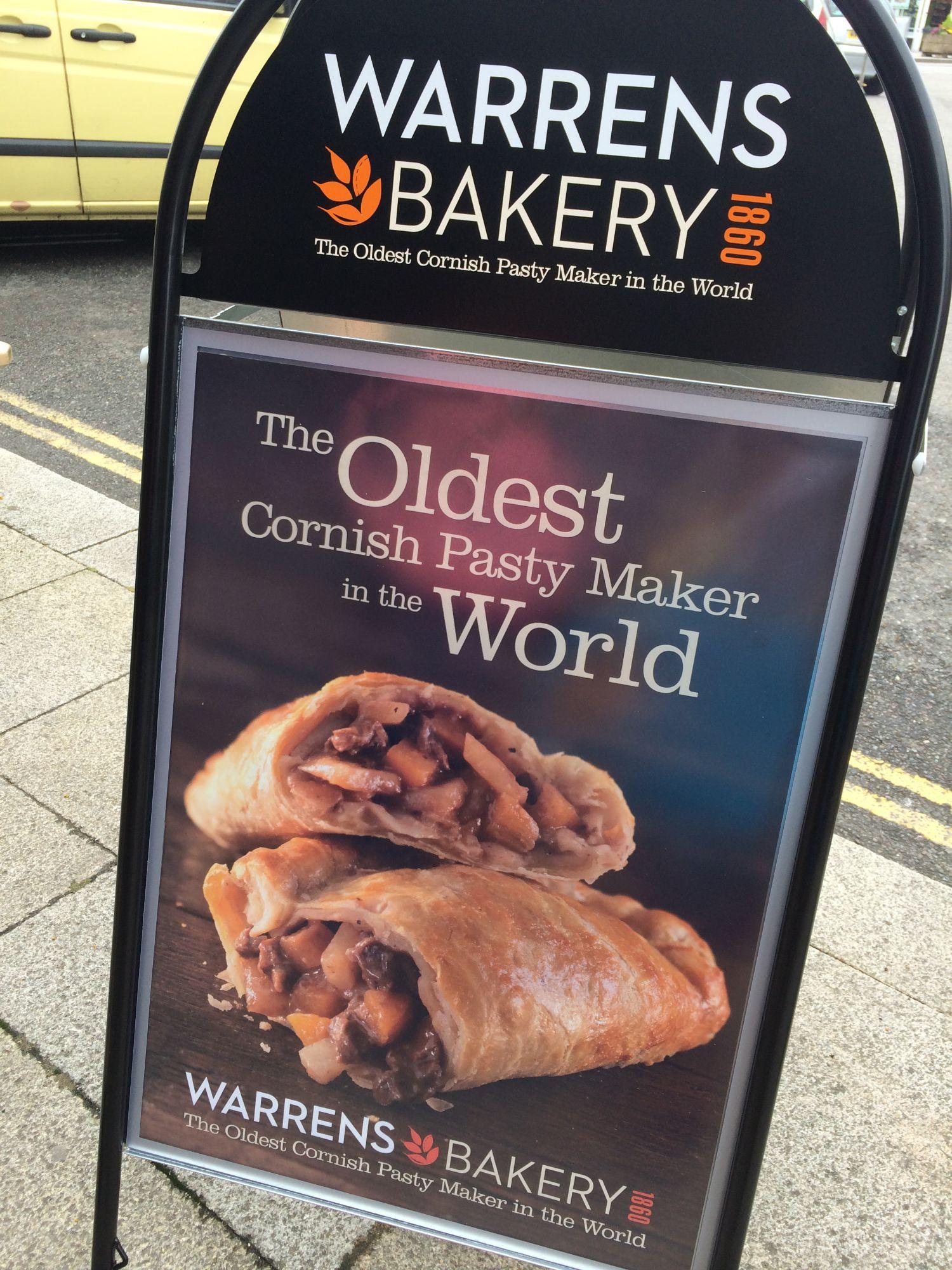 Warrens Cornish Pasty
