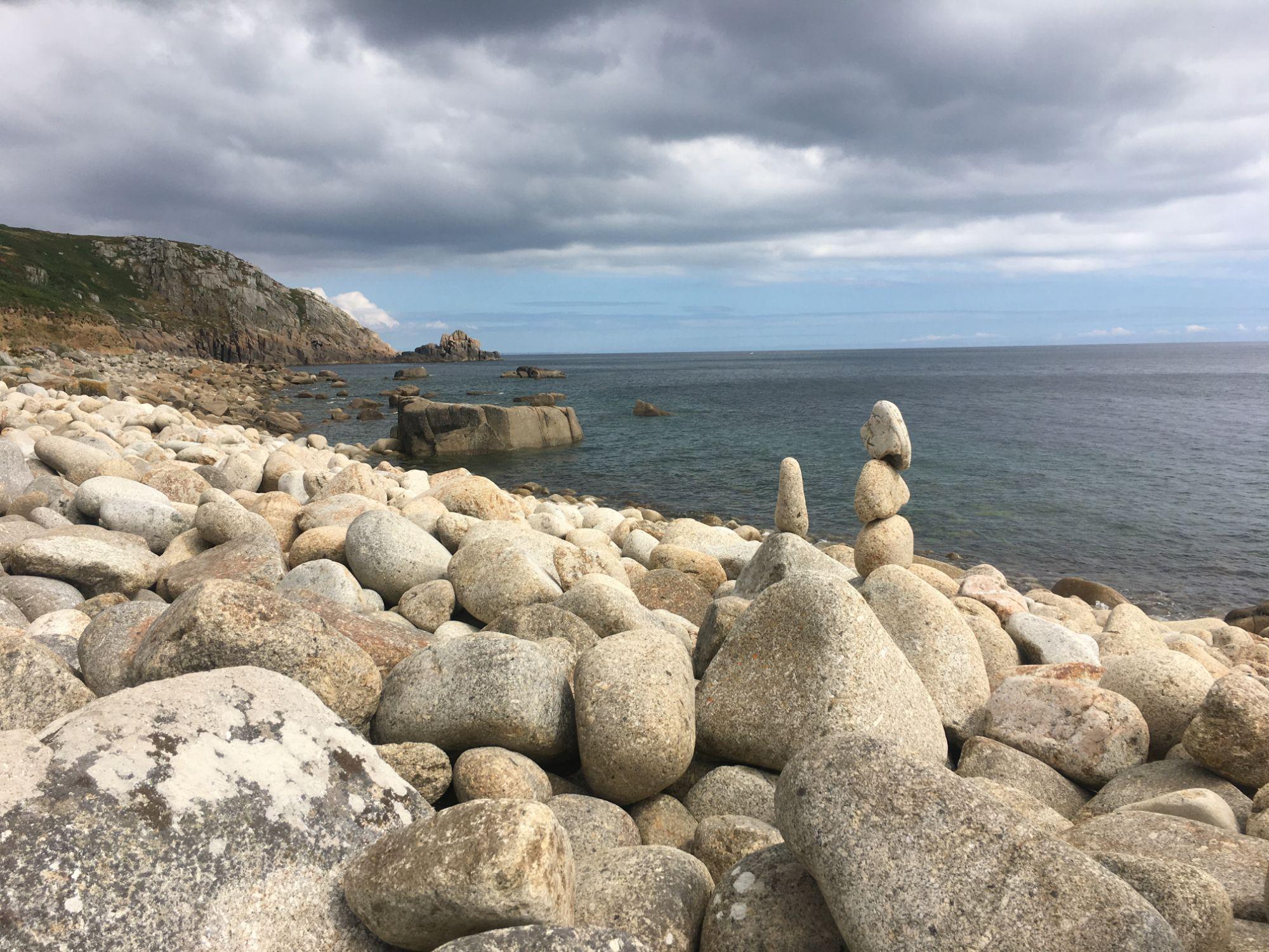 East towards Lamorna Cove