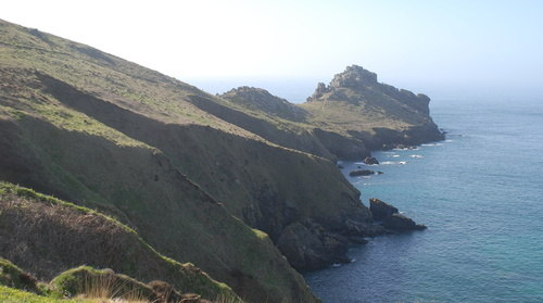 South West Coast Path Walking Gurnards Head