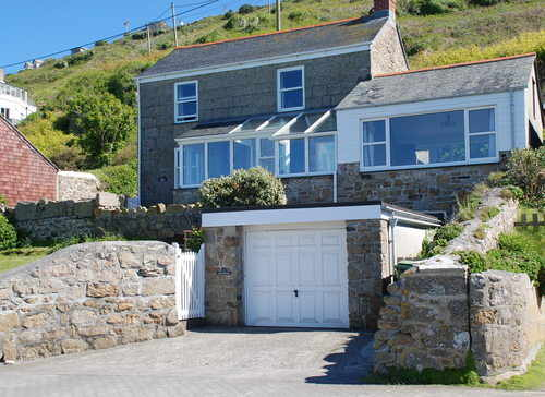 rose cottage sennen cove sunshine