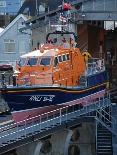sennen cove lifeboat