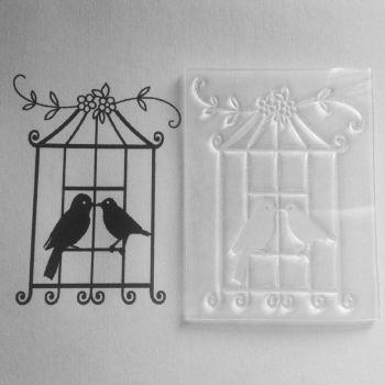 Birdcage stamp