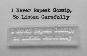 gossip listen carefully