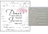 Peace I leave with you John 14:27