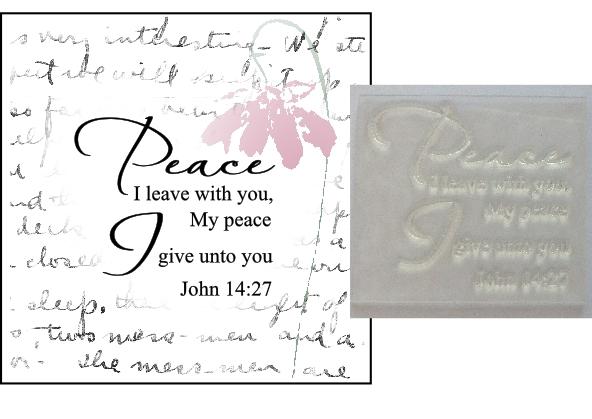 Peace I leave with you John 14:27
