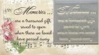 Memories verse stamp