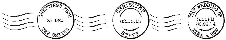 postmark examples
