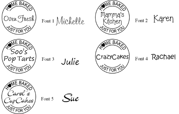 homebaked by fonts