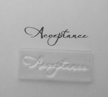 Acceptance script stamp