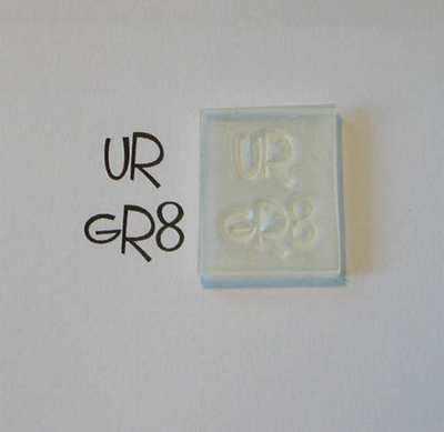 UR GR8, stamp