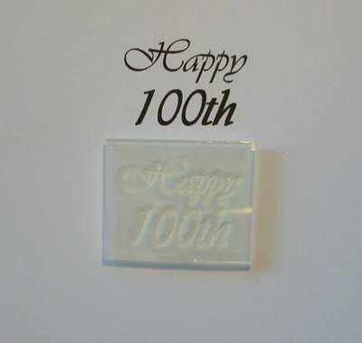 Happy 100th, stamp
