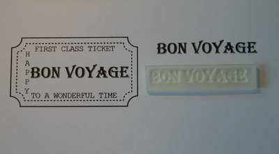 Ticket stamp option, Bon Voyage