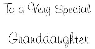 Granddaughter, stamp 3