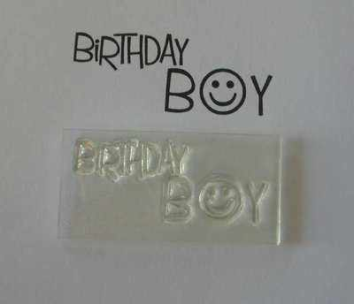 Birthday Boy, stamp