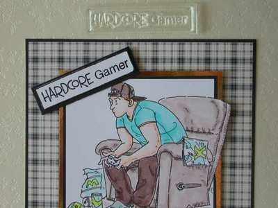 Hardcore Gamer, rubber stamp