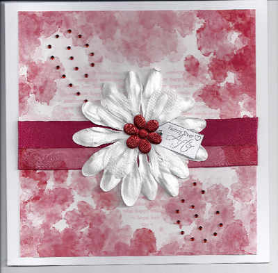 Wedding Card, wine colour theme
