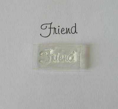 Friend, stamp 2