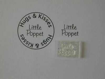 Little Poppet, Little Words stamp