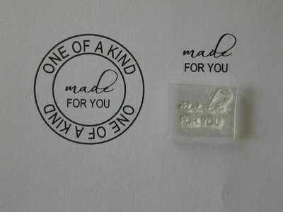 Made for You, Little Words stamp