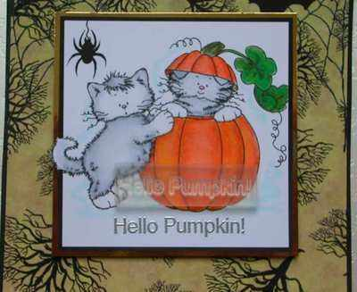 Hello Pumpkin! stamp