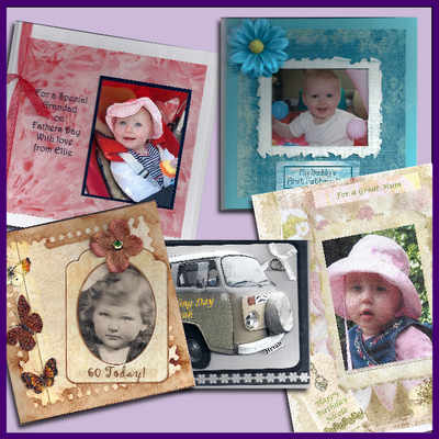 Photo Cards, handmade using your own photo