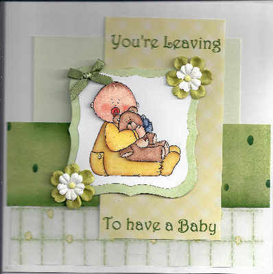 Leaving to have a Baby card