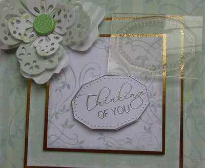 Label Frame Stamp, oval