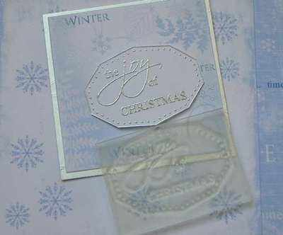 The Joy of Christmas, label stamp