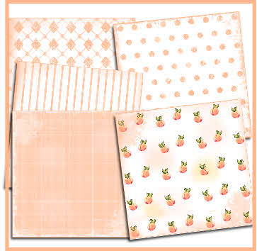 Peaches paper pack download
