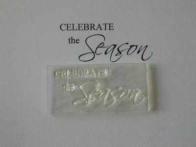 Celebrate the Season , Christmas stamp