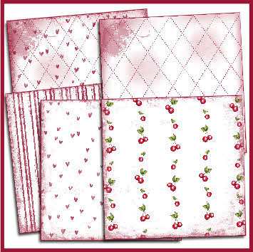 cherry paper pack