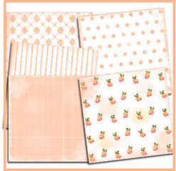 Peach paper pack