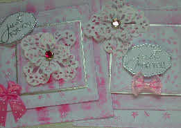 shabby pink toppers