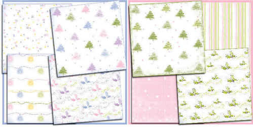 Xmas Trees paper packs