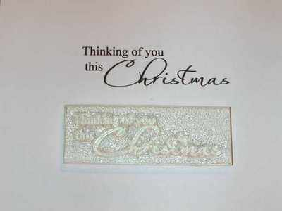 Thinking of you this Christmas, stamp