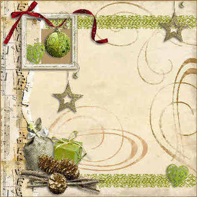 Rustic Christmas backing paper download