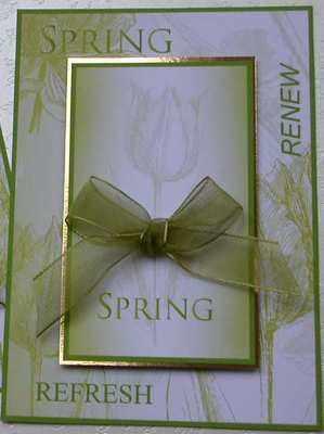 Spring tulips topper digi kit