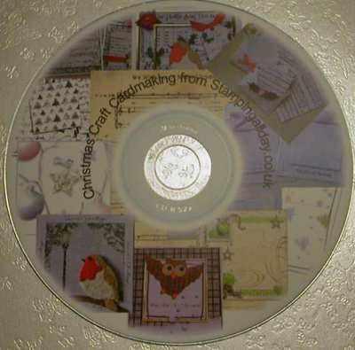 Christmas craft card making CD