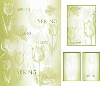 Spring tulip digi topper kit