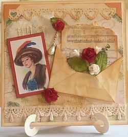 Trish W Vintage style card