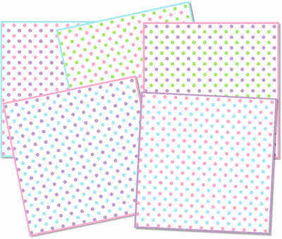Pretty Polka Dots paper pack download