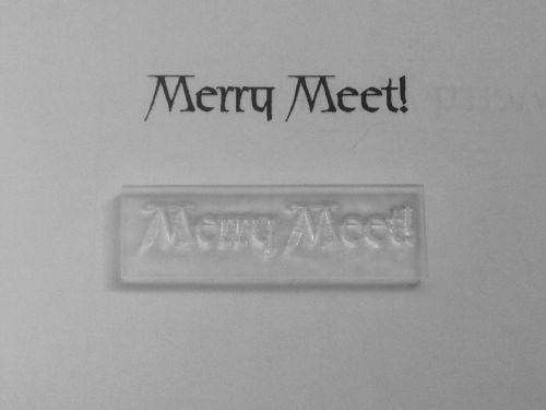 Pagan stamp, Merry Meet