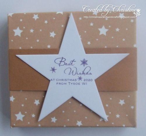 WI Christmas gift box